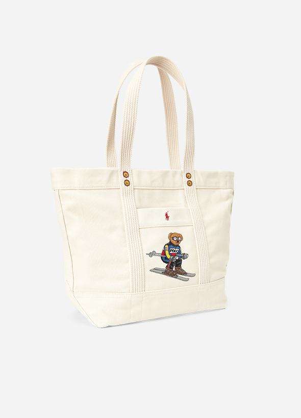SKI BEAR TOTE  Bag